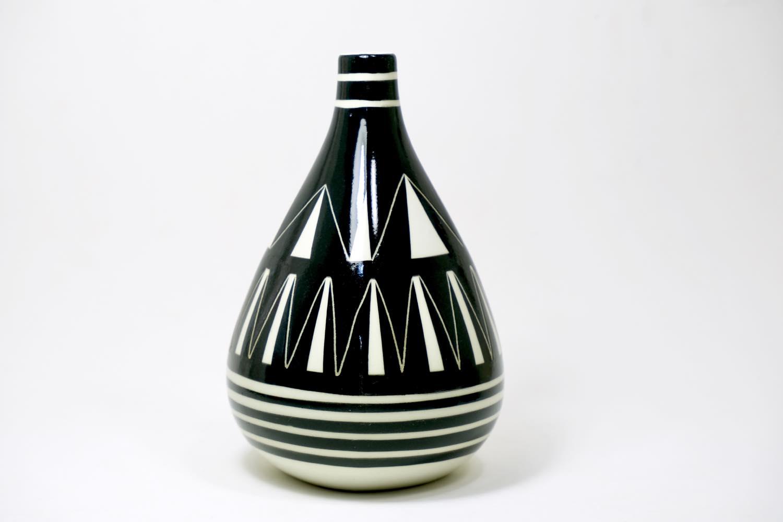 画像1: Gustavsberg/グスタフスベリ/Karin Bjorquist/Black & White/ベース (1)