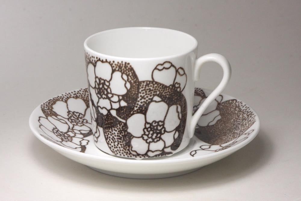 画像1: Gustavsberg/グスタフスベリ EMMA エマ ブラウン コーヒーカップ No.1 (1)