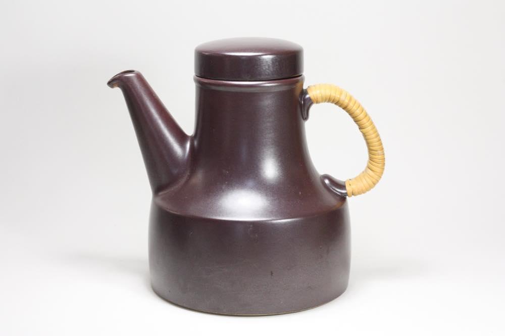 画像1: Gustavsberg/グスタフスベリ/Terma/テルマ/籐巻きハンドルコーヒーポット (1)