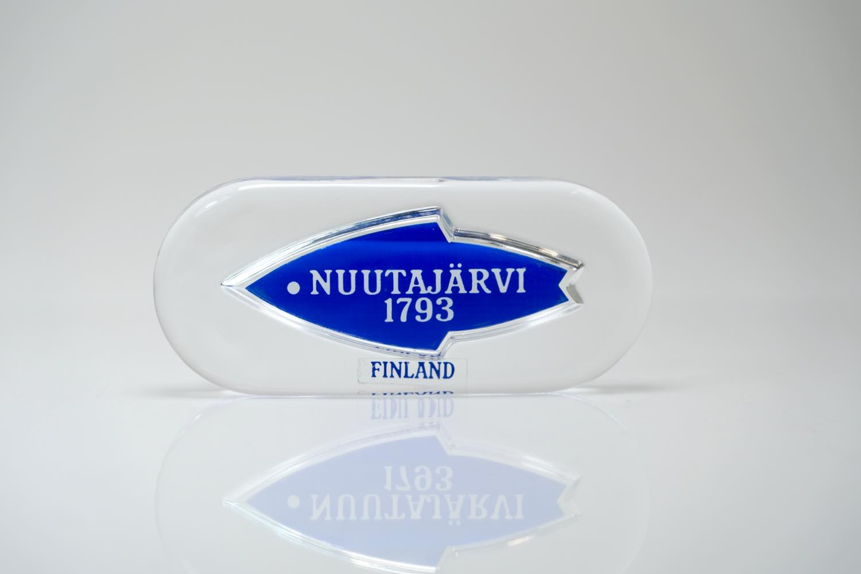 画像1: ビンテージ北欧雑貨/Nuutajarvi/ヌータヤルヴィ/ブランドロゴ/ブランドサイン (1)