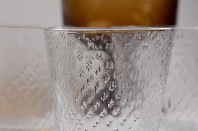 画像1: ビンテージ北欧雑貨/NUUTAJARVI/ヌータヤルヴィ/Tundra/ツンドラ/グラス/タンブラー (1)