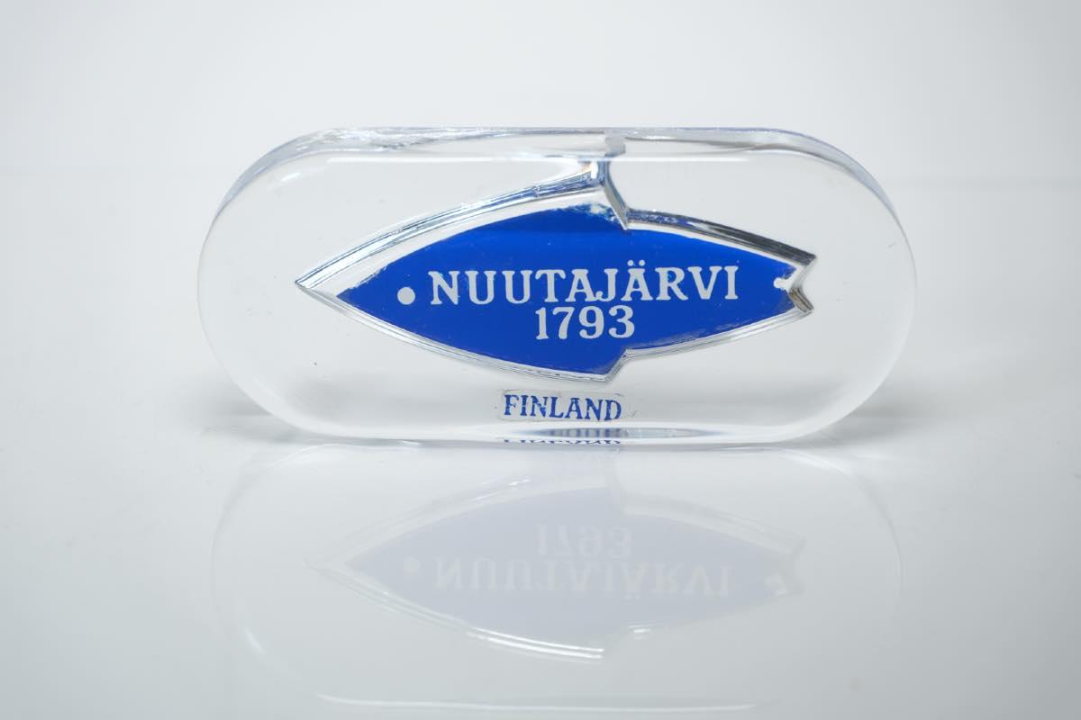 画像1: ビンテージ北欧雑貨/Nuutajarvi/ニュータヤルヴィ/ブランドロゴ/ブランドサイン (1)