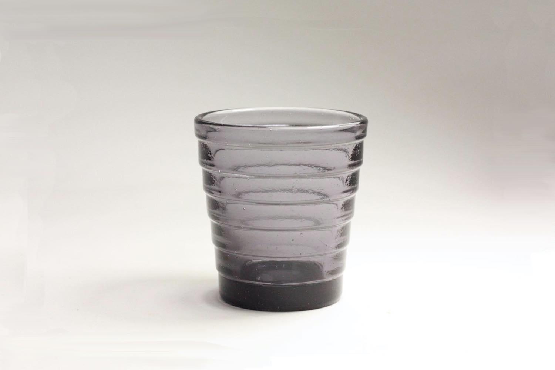 画像1: 北欧ビンテージガラス/Aino Aalto/アイノ・アアルト/Karhula/カルフラ/シュナップス/ライトバイオレット (1)