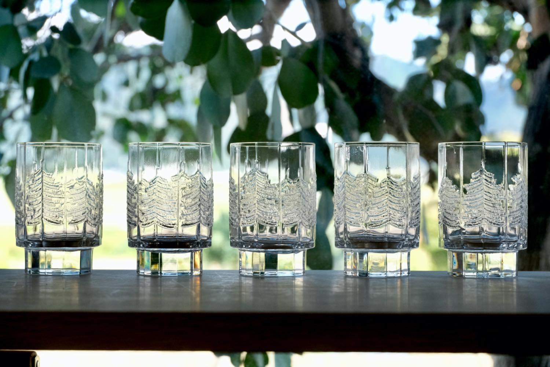 画像1: フィンランド/Iittala/イッタラ /Kuusi/クーシ /もみの木/H10/グラス/タンブラー (1)