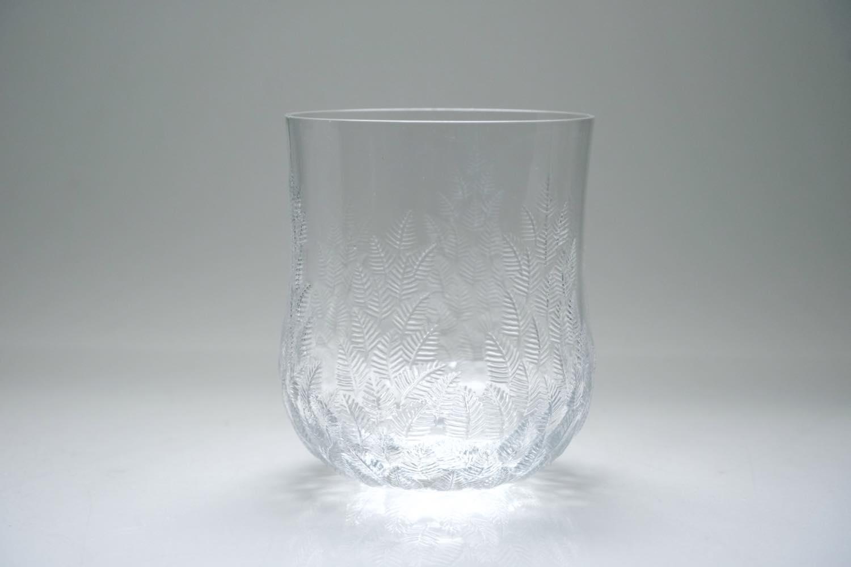 画像1: ビンテージ北欧雑貨/iittala/イッタラ/Koivu/コイブ/白樺グラス/Mサイズ (1)