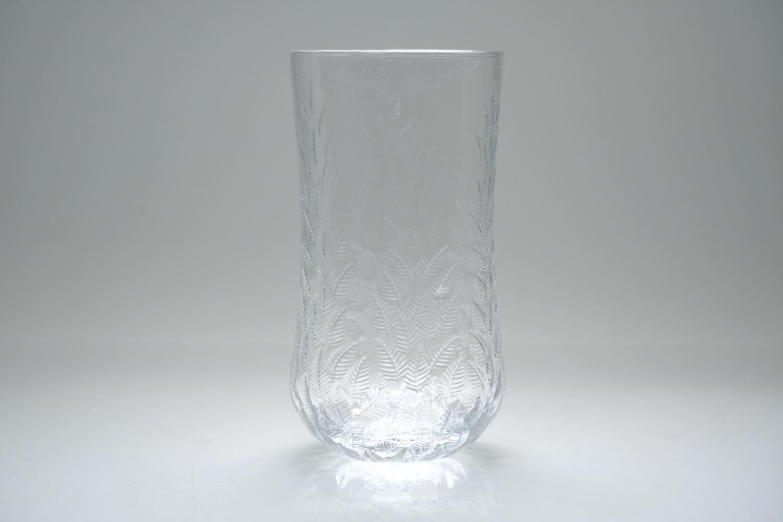 画像1: ビンテージ北欧雑貨/iittala/イッタラ/Koivu/コイブ/白樺グラス/ロンググラス (1)