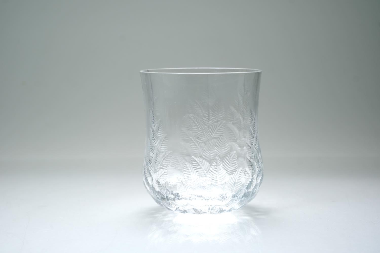 画像1: ビンテージ北欧雑貨/iittala/イッタラ/Koivu/コイブ/白樺グラス/Sサイズ (1)