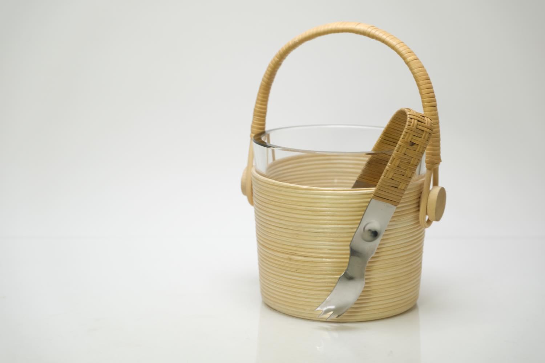 画像1: ビンテージ北欧雑貨/Kaj Franck/カイ・フランク/Nuutajarvi/ニュータヤルヴィ/Ice bucket (1)