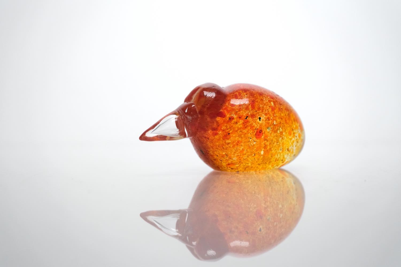 画像1: ビンテージ北欧雑貨/Kaj Franck/カイ・フランク/アートオブジェクト/Art Kiwi/アートキーウィ/オレンジ (1)