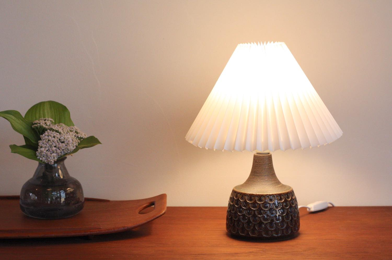 画像1: ビンテージ北欧照明/Soholm/スーホルム/テーブルライト/陶製/No.2 (1)