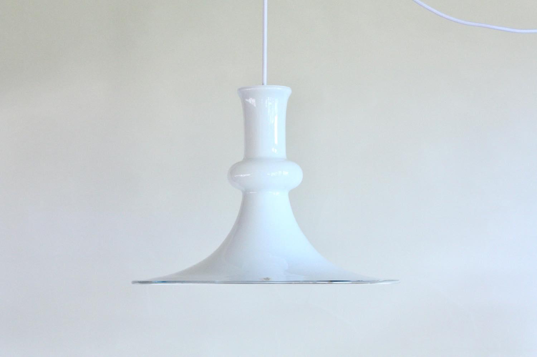 画像1: 北欧ビンテージ照明/Holmegaard/ホルメゴー/ホルムガード/ペンダント/ホワイト (1)