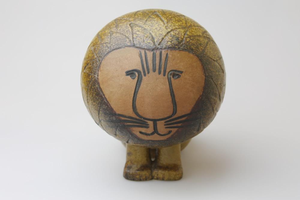 画像1: リサ・ラーソン Africa アフリカ ライオン ヴィンテージ品(アンティーク) Mサイズ (1)