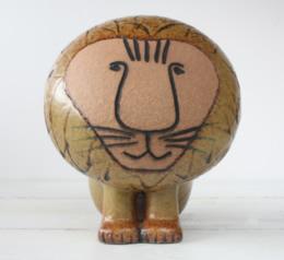 画像1: Afiria Lion リサ・ラーソン アフリカ ライオン No,1中サイズ (1)