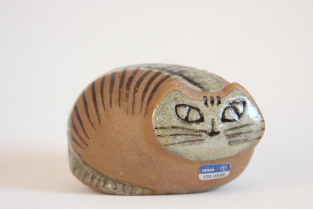 画像1: リサ・ラーソン LILLA ZOO  小さな動物園 ネコ ヴィンテージ No.2 (1)