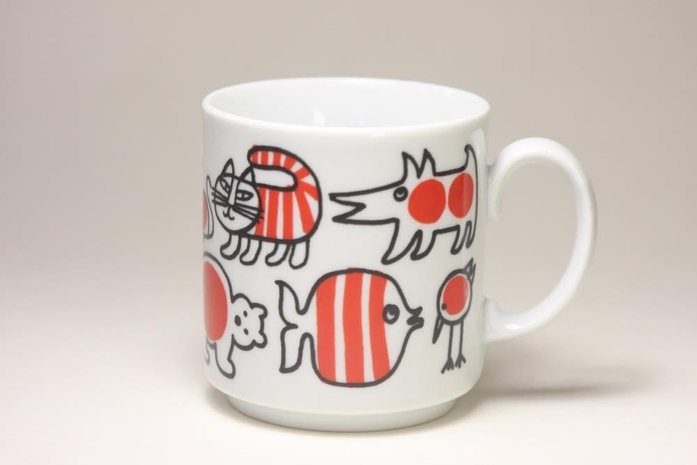 画像1: Lisa Larson リサ・ラーソン マグカップ ヴィンテージ品 美品 (1)