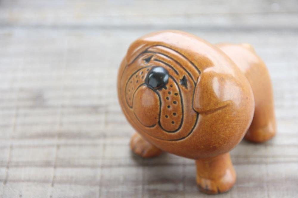 画像1: リサ・ラーソン Kennel Bulldog ケンネル ブルドッグ ヴィンテージ品 (1)