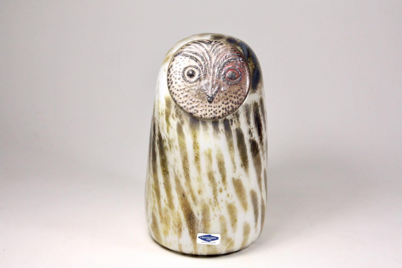 画像1: 北欧アートガラス/ビンテージガラス/Oiva Toikka/オイバ・トイッカ/イッタラ/Birds/バード/Huuhkaja/Eagle owl (1)
