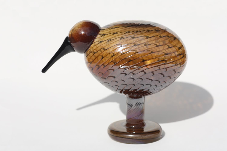画像1: 北欧アートガラス/ビンテージガラス/Oiva Toikka/オイバ・トイッカ/iittala/イッタラ/Birds/バード/Kultakiwi/Golden kiwi/ゴールデンキウイ (1)
