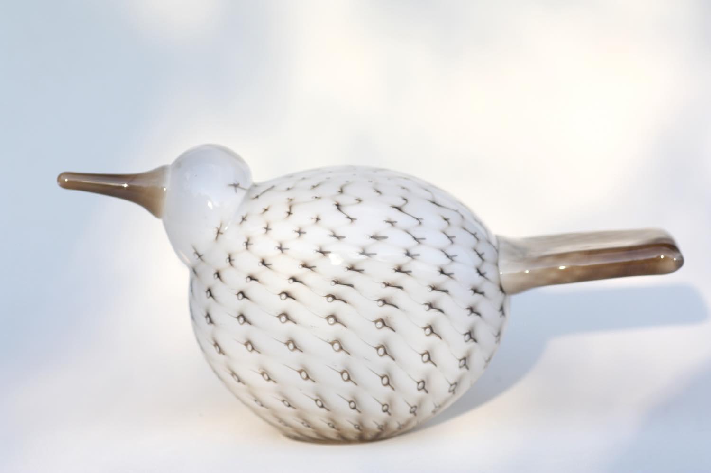 画像1: 北欧アートガラス/ビンテージガラス/Oiva Toikka/オイバトイッカ/イッタラ/Nuutajarvi/ヌータヤルヴィ/Birds/バード/Raquel/Annual Bird 2009 (1)