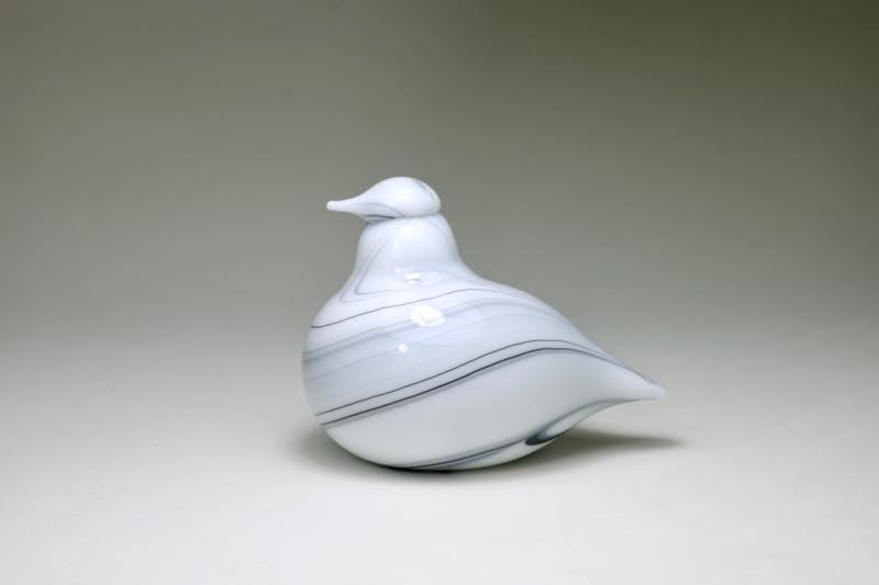 画像1: 北欧アートガラス/ビンテージガラス/Oiva Toikka/オイバ・トイッカ/iittala/イッタラ/Birds/バード/Kvitasku/Wheater (1)
