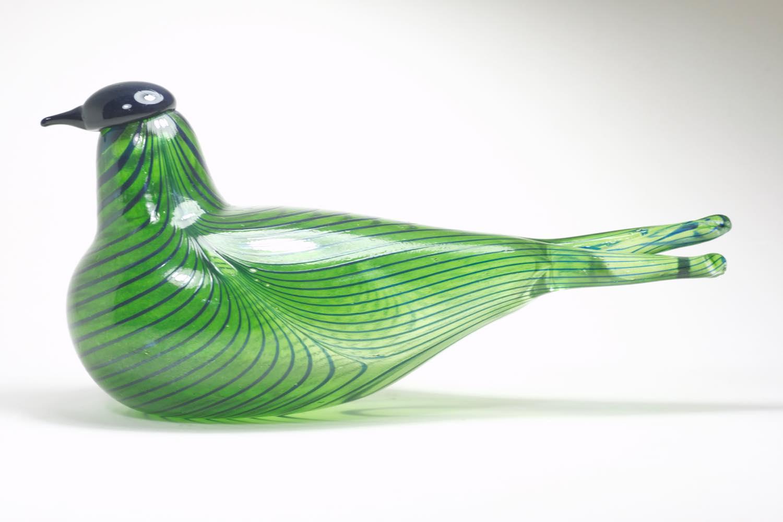 画像1: 北欧アートガラス/ビンテージガラス/Oiva Toikka/オイバ・トイッカ/iittala/イッタラ/Birds/バード/Tropical Tern/1989年/Stockmann限定 (1)