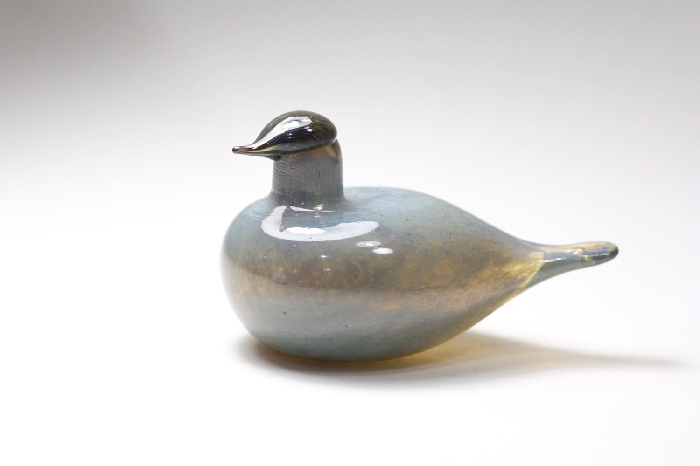 画像1: 北欧アートガラス/ビンテージガラス/Oiva Toikka/オイバ・トイッカ/iittala/イッタラ/Birds/バード/Stora Enso (1)