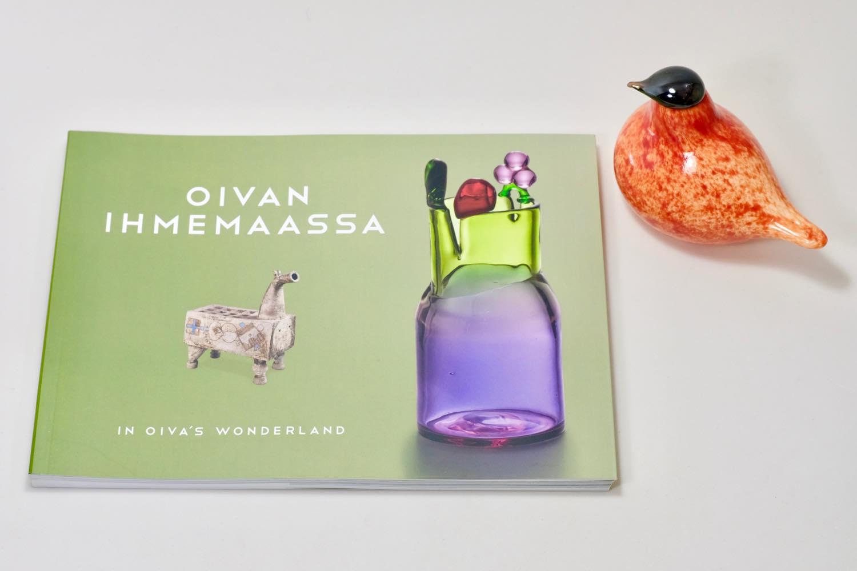 画像1: 北欧アートガラス/ビンテージガラス/Oiva Toikka/オイバ・トイッカ/Birds/バード/OIVAN IHMEMAASSA/ブック (1)