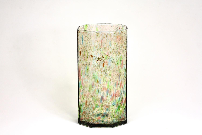 画像1: 北欧アートガラス/ビンテージガラス/Oiva Toikka/オイバ・トイッカ/Nuutajarvi/ヌータヤルヴィ/1977年/アートオブジェクト/TAHITI vase 813/タヒチベース (1)