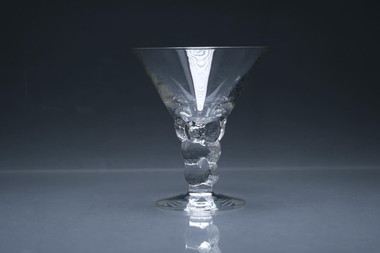 画像1: 北欧ビンテージガラス/Oiva Toikka/オイバ・トイッカ/Mukura/ムクラ/NUUTAJARVI/ヌータヤルヴィ/カクテルグラス/No.2 (1)