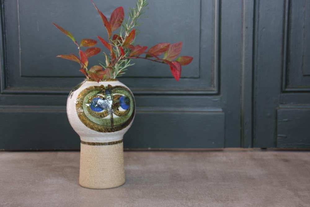画像1: デンマーク Soholm スーホルム 花瓶 (1)