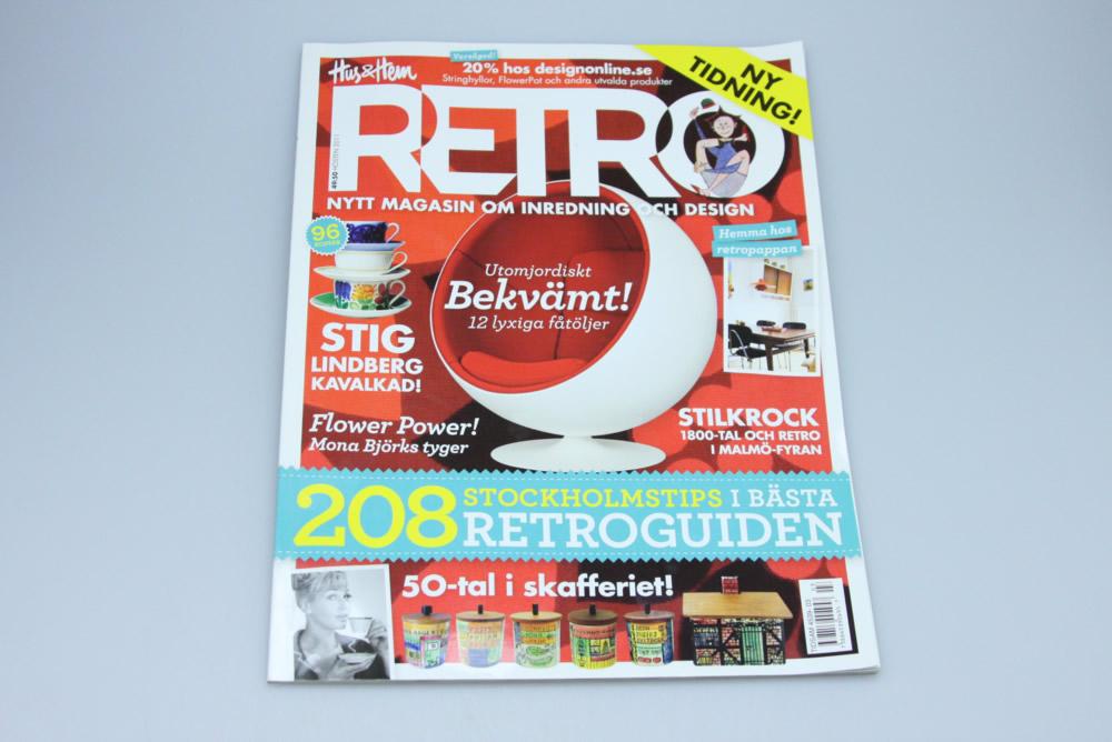画像1:  スウェーデン RETRO(レトロ)雑誌 2011 (1)
