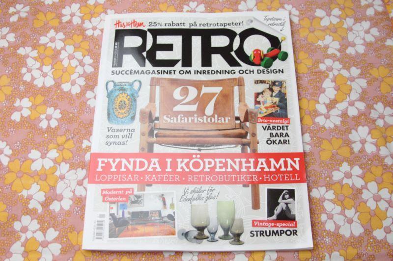 画像1: スウェーデン RETRO(レトロ)雑誌 2013-No.1 (1)
