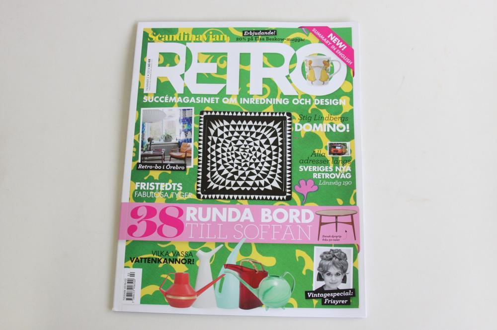 画像1: スウェーデン RETRO(レトロ)雑誌 2013-No.8 (1)