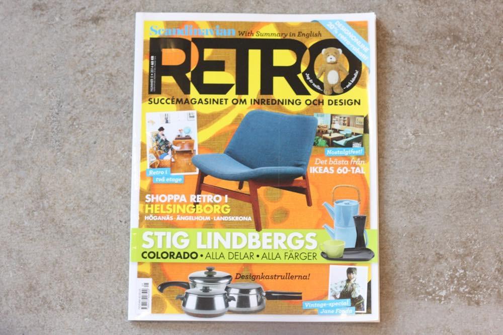 画像1: スウェーデン RETRO(レトロ)雑誌 2014-No.5 (1)