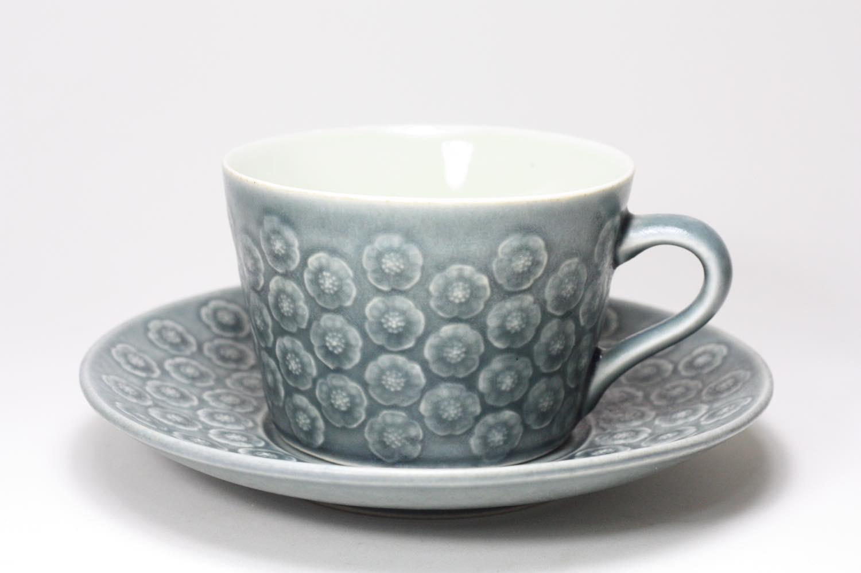 画像1: Jens H. Quistgaard/イェンス・H・クィストゴー/Bla Azur/ブラアズール/コーヒーカップ&ソーサー (1)