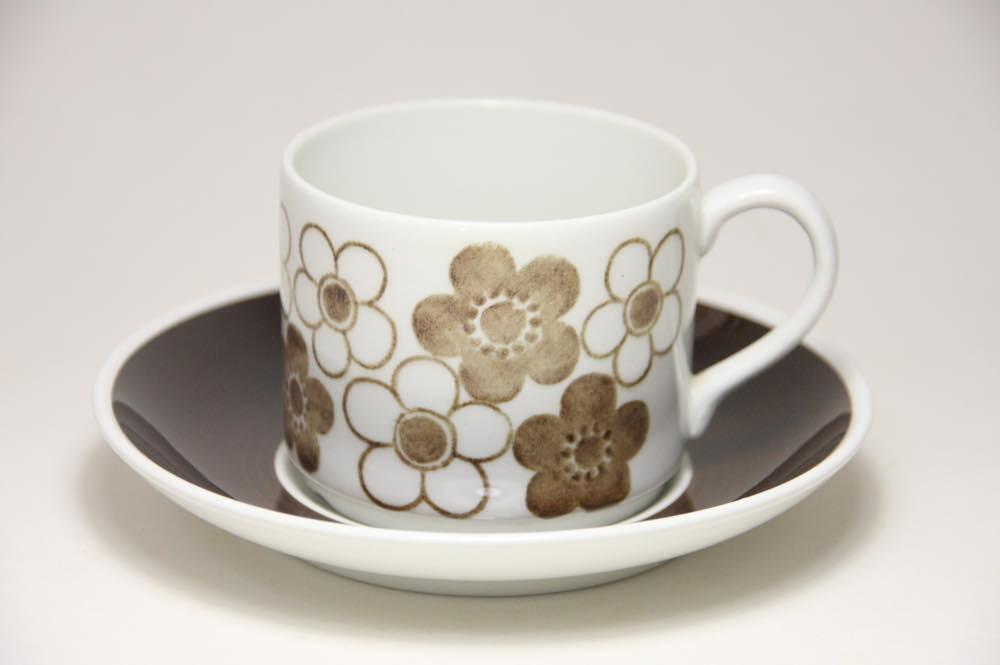 画像1: Rorstrand/ロールストランド ANEMON アネモン コーヒーカップ&ソーサーNo.1 (1)