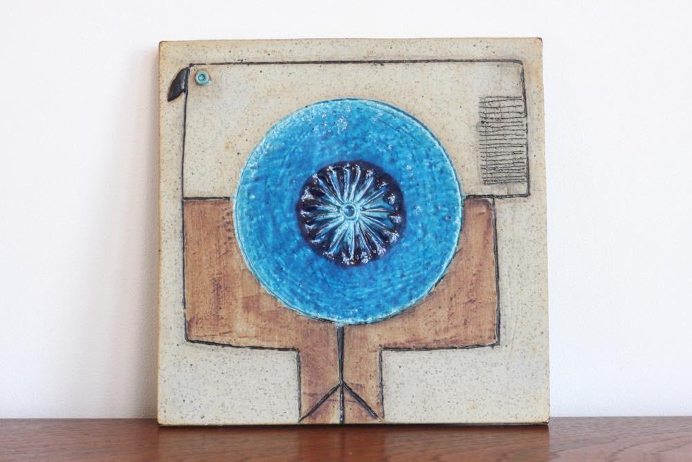 画像1: RORSTRAND/ロールストランド/ Inger Persson /インガー・ペーション/小鳥陶板 (1)