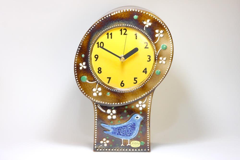 画像1: Rorstrand/ロールストランド/Sylvia Leuchovius/ シルヴィア・レウショヴィウス/ 置き時計小鳥 (1)