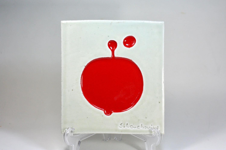 画像1: Rorstrand/ロールストランド/Sylvia Leuchovius /陶板/赤い果実 (1)