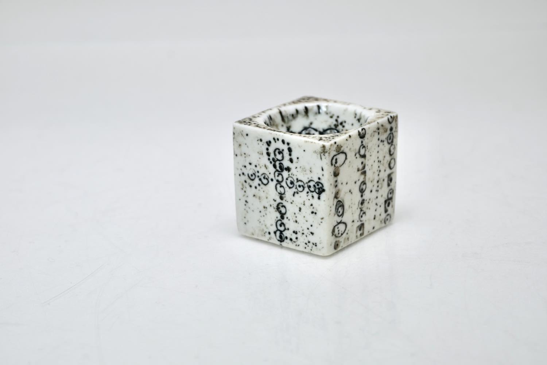 画像1: 北欧ビンテージ/北欧アート/Rut Bryk/ルート・ブリュック/アートオブジェクト/キューブ/No.2 (1)