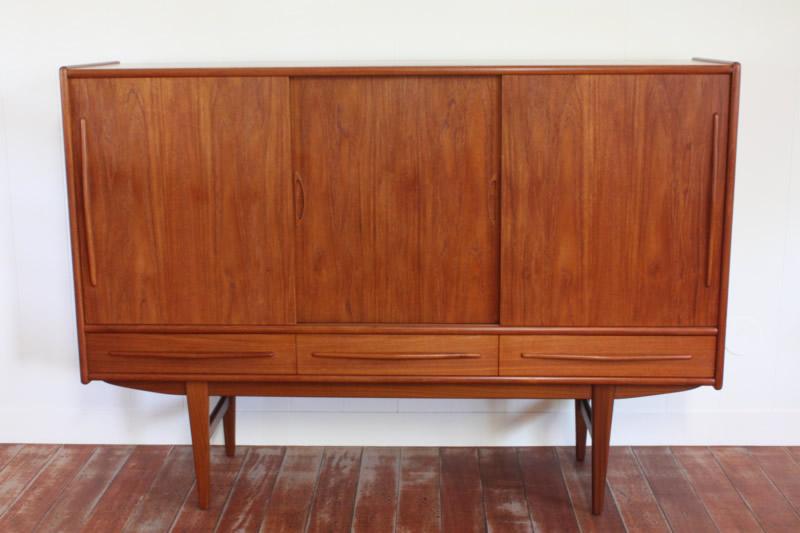 画像1: 北欧ヴィンテージ家具/デンマーク製 サイドボード (1)