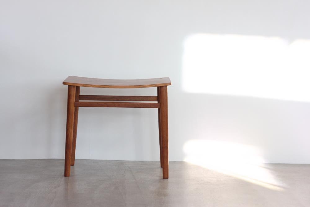 画像1: 北欧ビンテージ家具/デンマーク製 チーク&オークスツール (1)