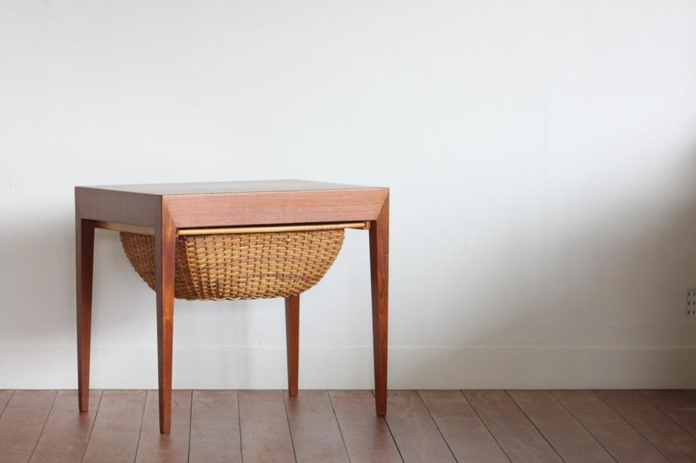 画像1: 北欧ビンテージ家具/デンマーク/ソーイングキャビネット/Haslev Mobelfabrik (1)