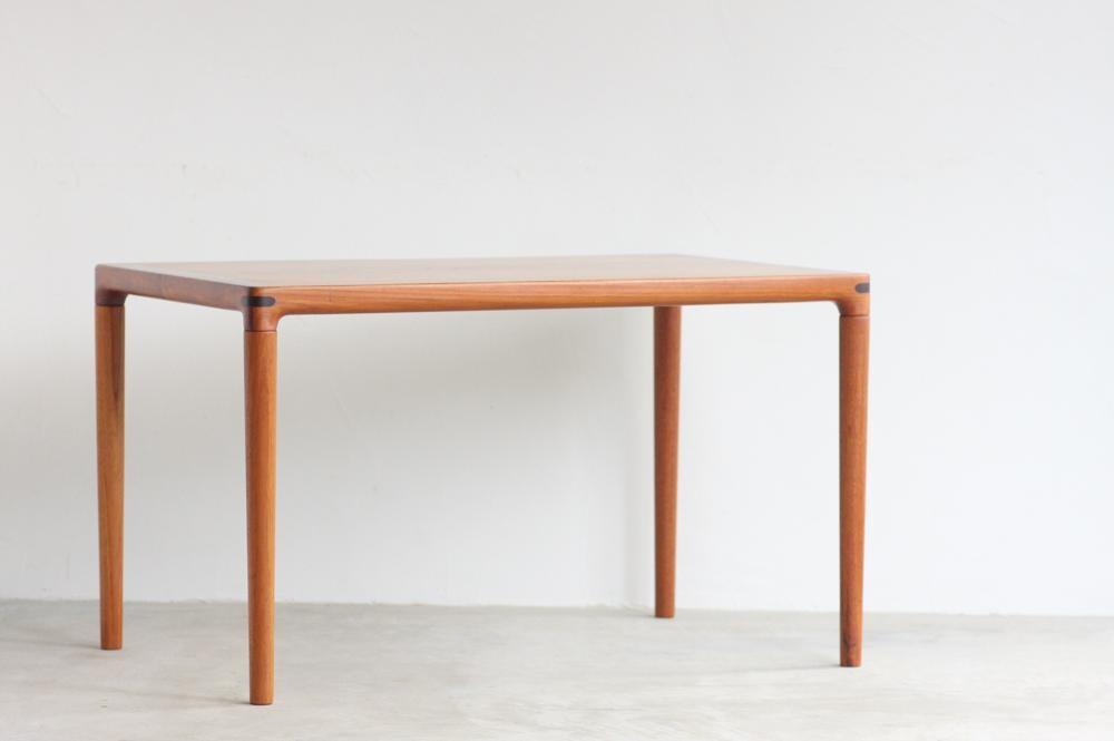 画像1: 北欧ビンテージ家具/チーク/サイドテーブル  (1)