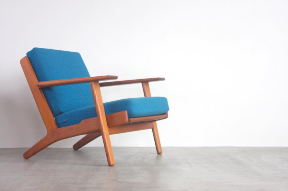 画像1: 北欧ビンテージ家具/Hans j Wegne/rハンス J ウェグナー/ゲタマ/GE290/チーク  (1)