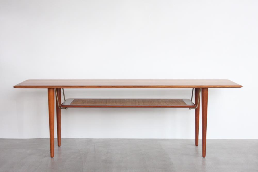 画像1: 北欧ビンテージ家具/Peter Hvidt & O M Nielse/ France & Søn/ FD516コーヒーテーブル (1)