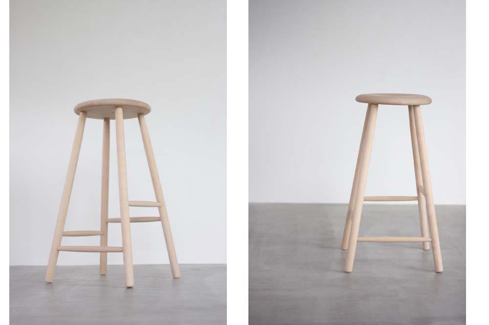 画像1: 北欧ビンテージ家具/デンマーク/Nordic Stool/バースツール  (1)