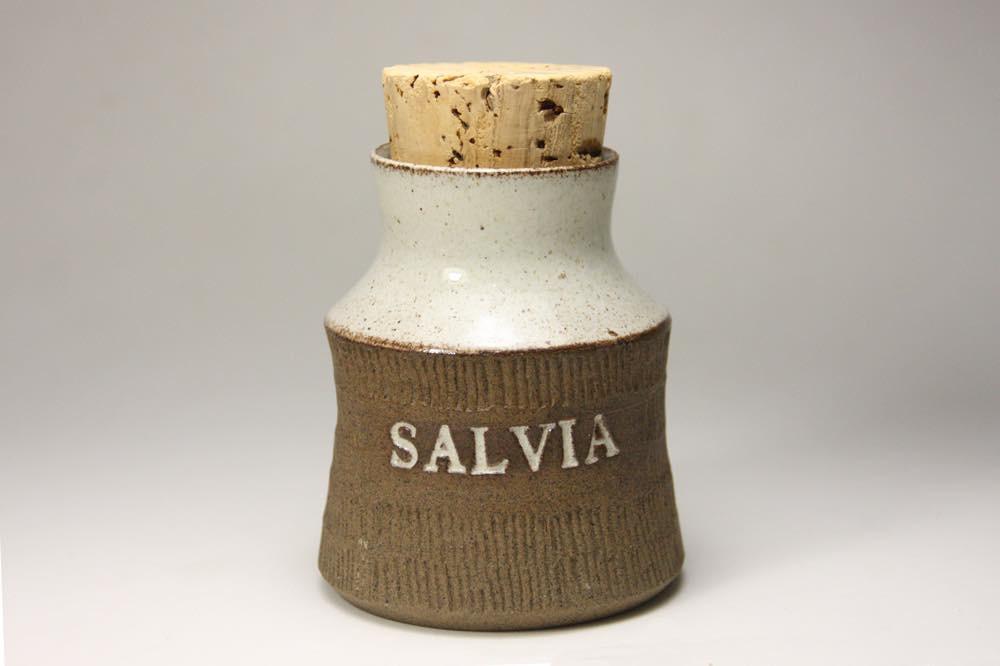 画像1: Signe Persson-Melin/シグネ・ペーション・メリン/1955年/スパイスポット/SALVIA/セージ (1)