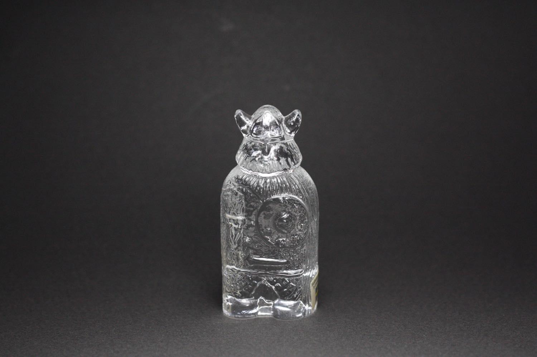 画像1: スウェーデン/Lindshammar社製/ガラスのオブジェ/ヴァイキング  (1)