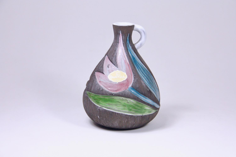 画像1: Upsala Ekeby/ウプサラ エキュビ/マリ・シムルソン/チューリップ花瓶/一輪挿し 丸形/No.2 (1)